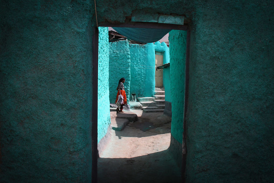 In The Blue Of Harar, Ethiopia