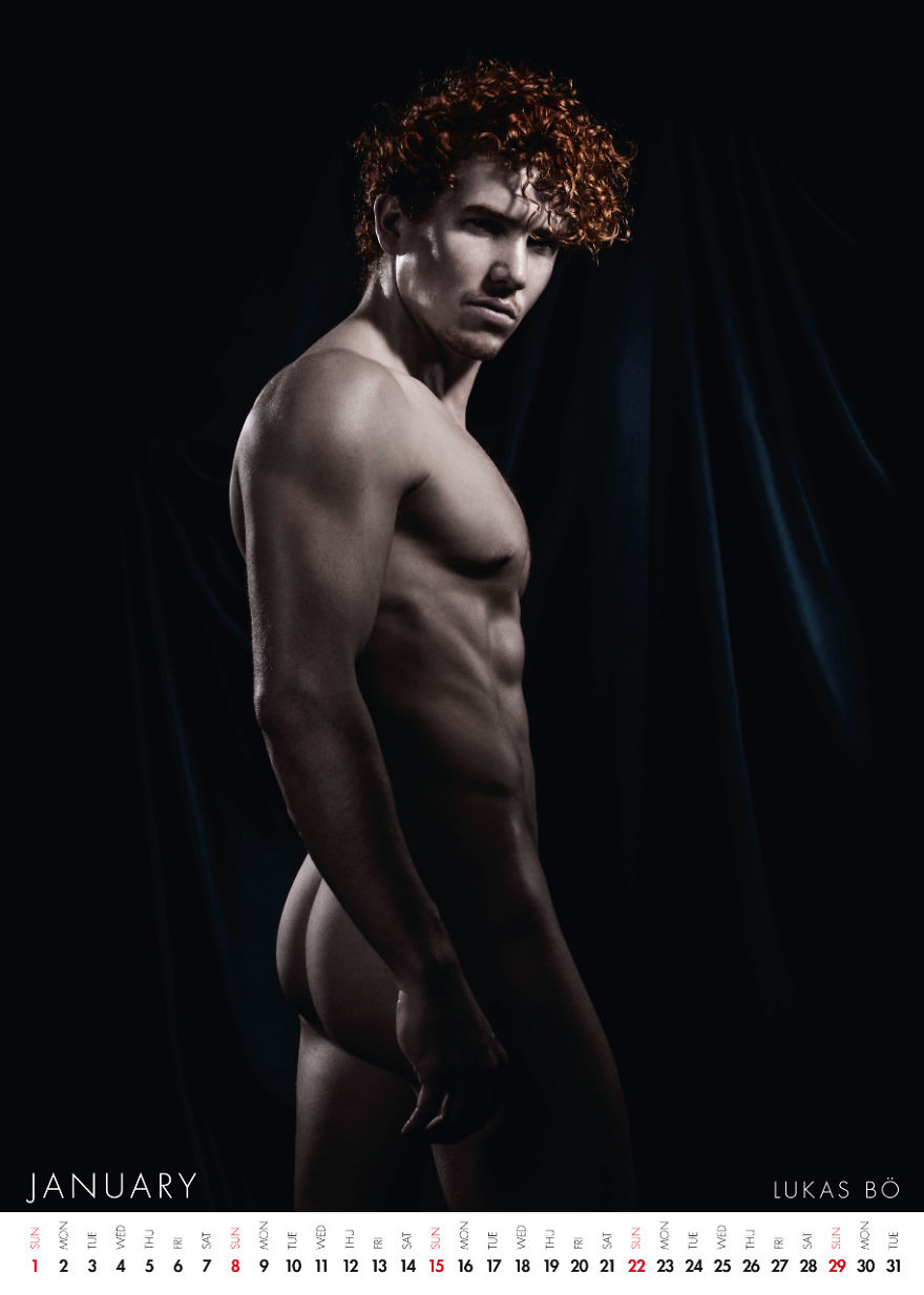 World's First Ever Nude Calendar Dedicated Entirely To Red-haired Men (nsfw)