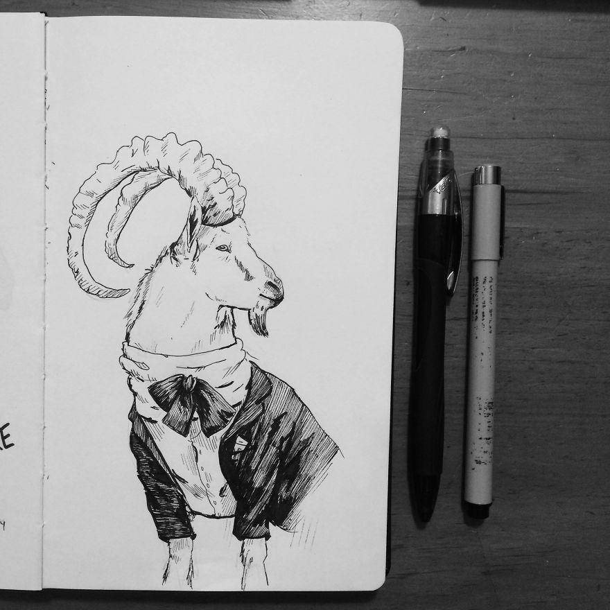 Dapper Goat