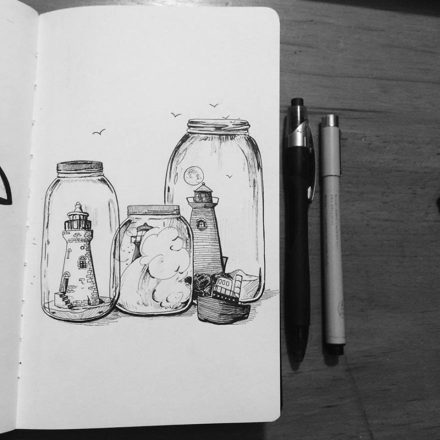 Inktober #3: Collection