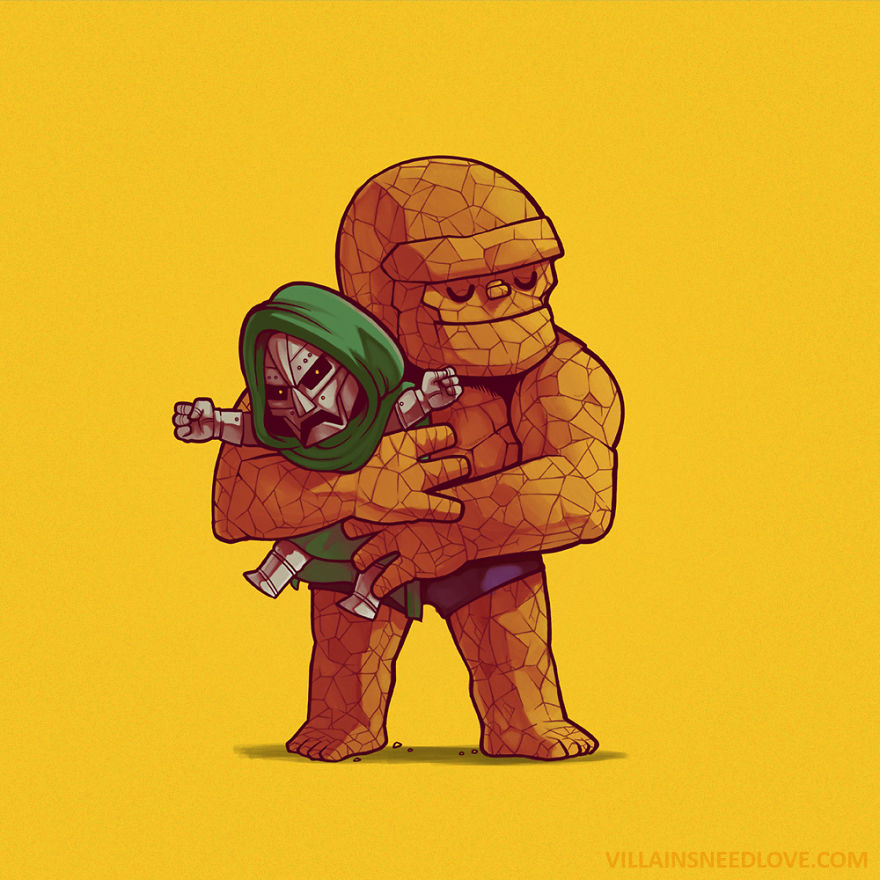 Dr. Doom And The Thing