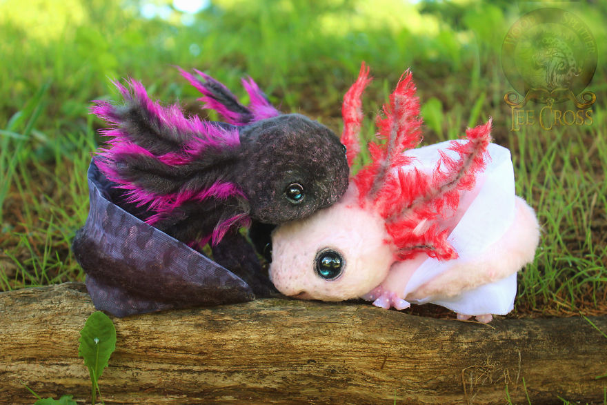 Realistic Baby Animals Dragons That I Create For People To Adopt