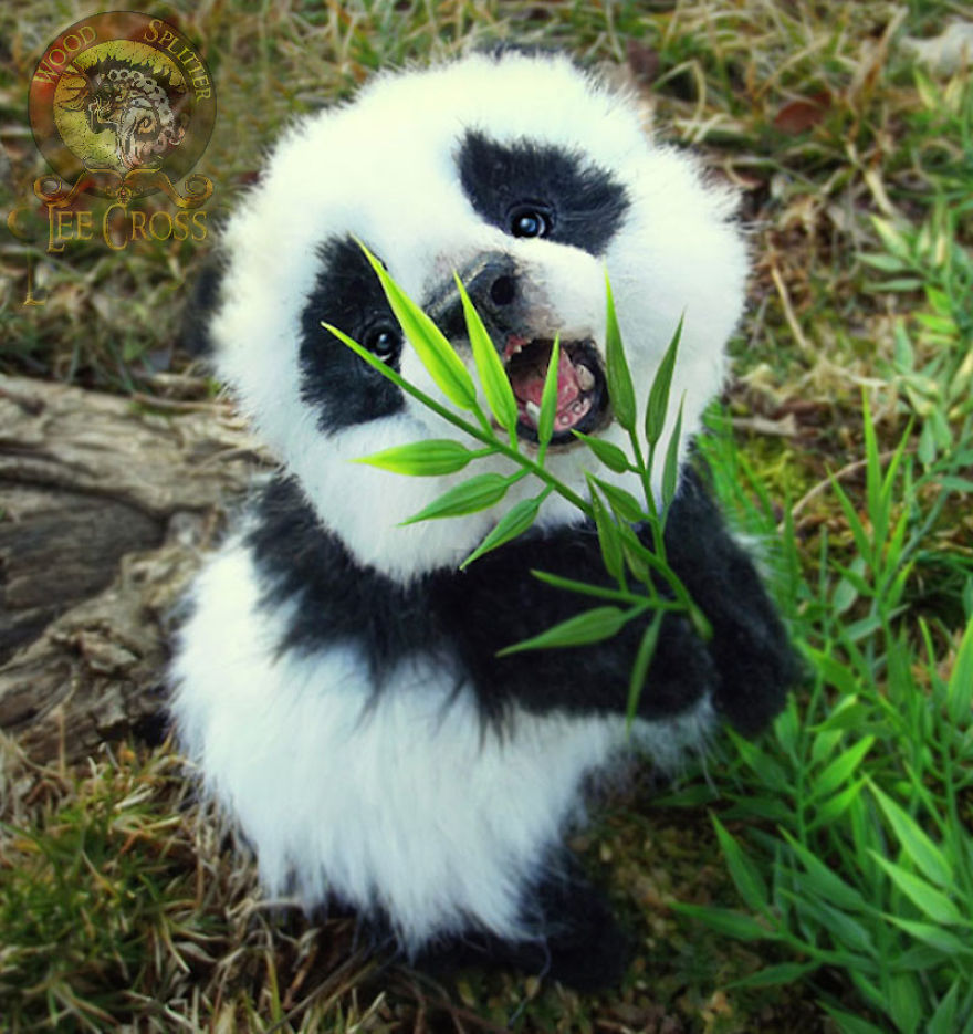 Poseable Baby Panda