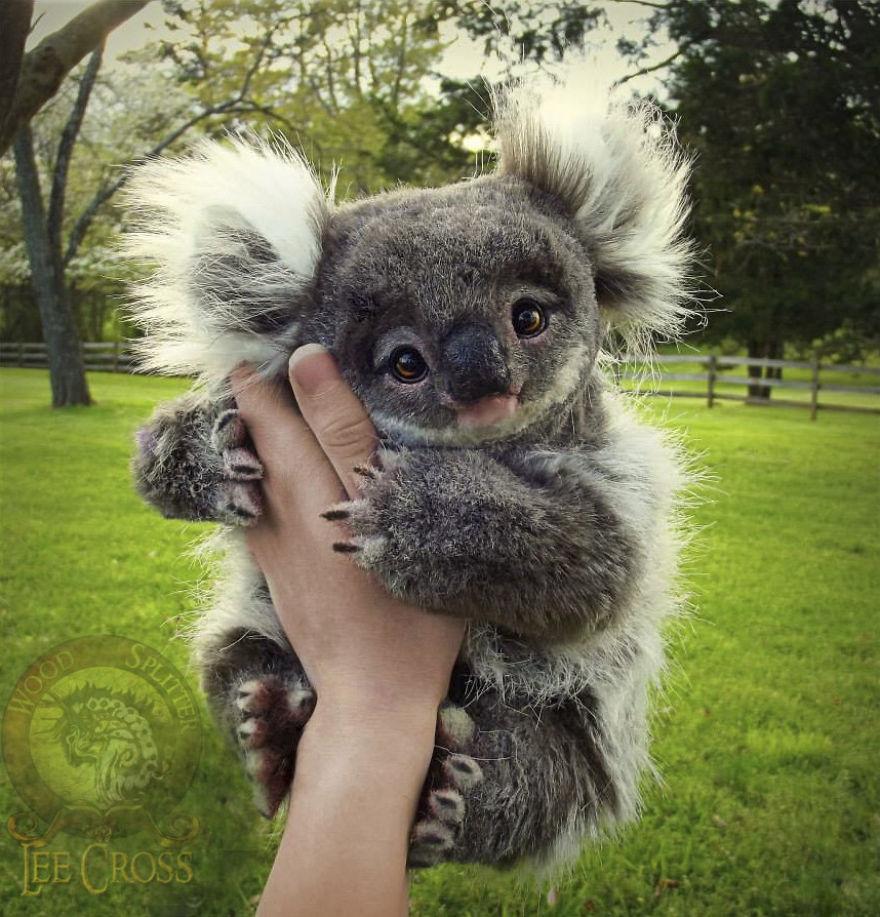 Poseable Baby Koala