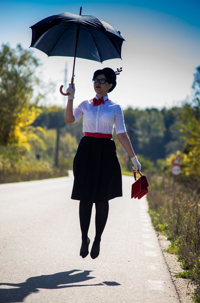 Mary Poppins Has Landed