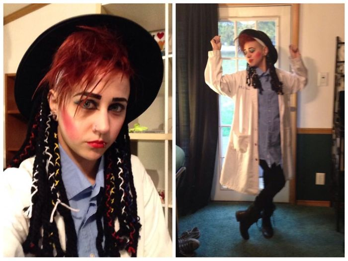 I'll Tumble For Ya! -me As Boy George