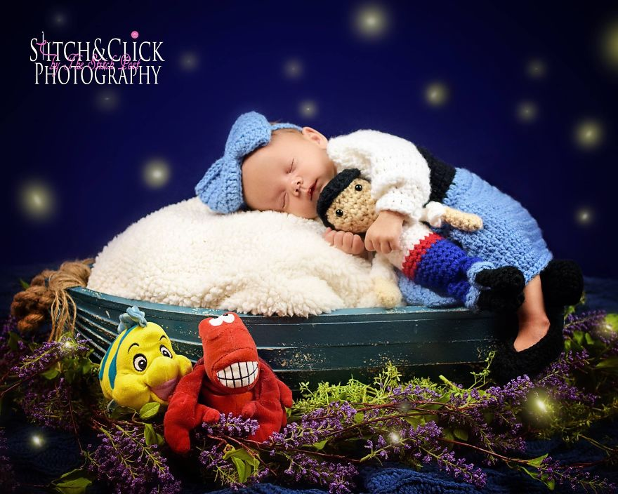 Mom Turned Her Love For Crochet Into A Photography Business And The Result Is Adorable