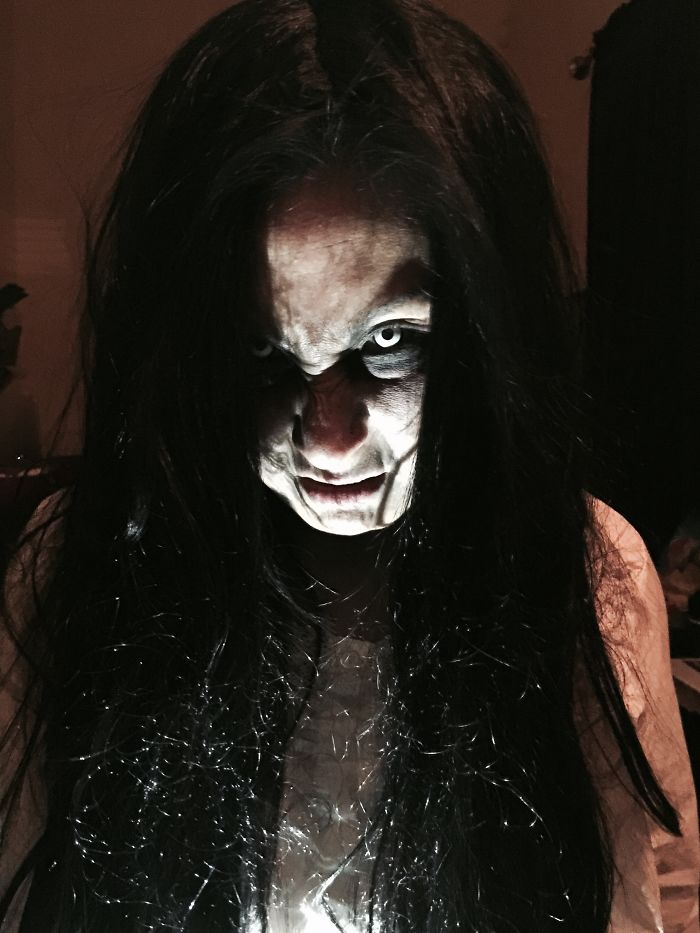 Me, Last Year, As Samara From The Ring