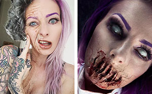 This Makeup Artist Will Scare You To Death (15+ Pics)