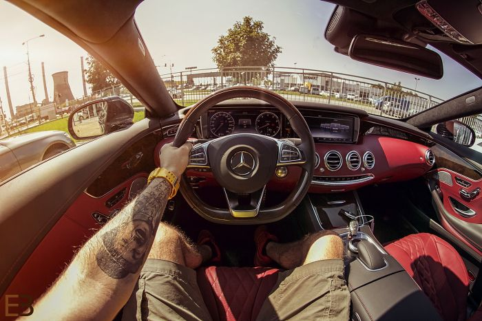 I Photograph The Drivers View Of Cars. Part 2