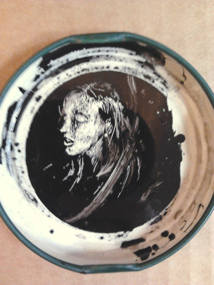One Less Cap In The Trash! My China Ink Portraits On Bottle Caps