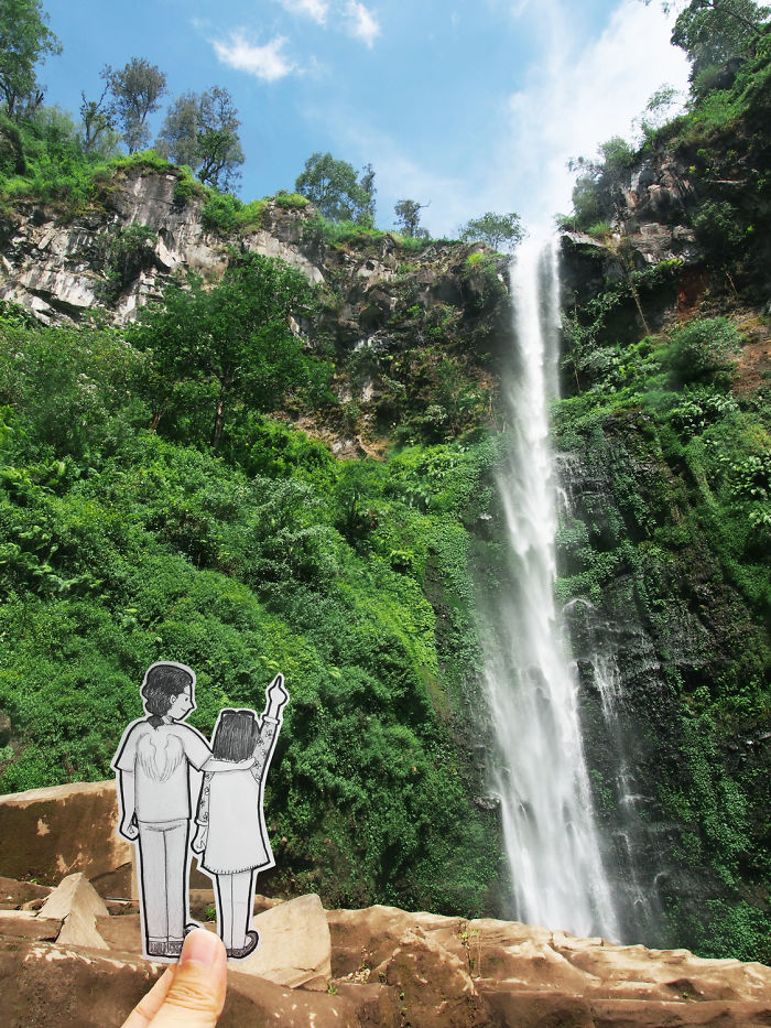 Abang & Neng's Date Ideas: Seeing The Waterfall