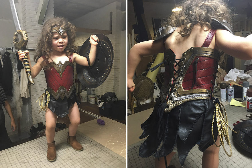 Wonder woman costume for 11 year olds-2617