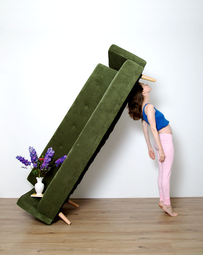 Pillars Of Home: I Balance Household Objects Into Floor-to-ceiling Sculptures (part 2)