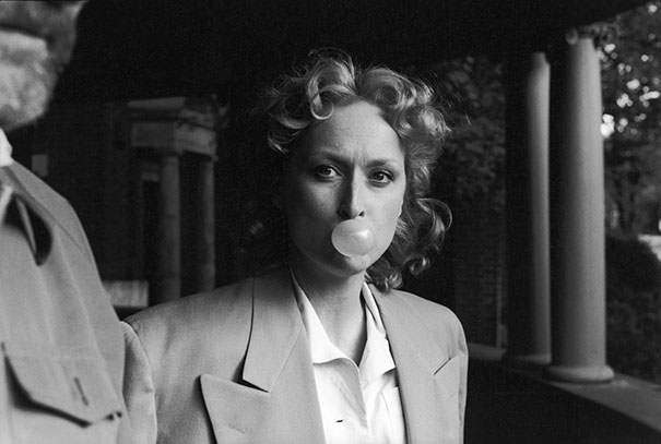 Meryl Streep During Production Of Sophie's Choice, 1982