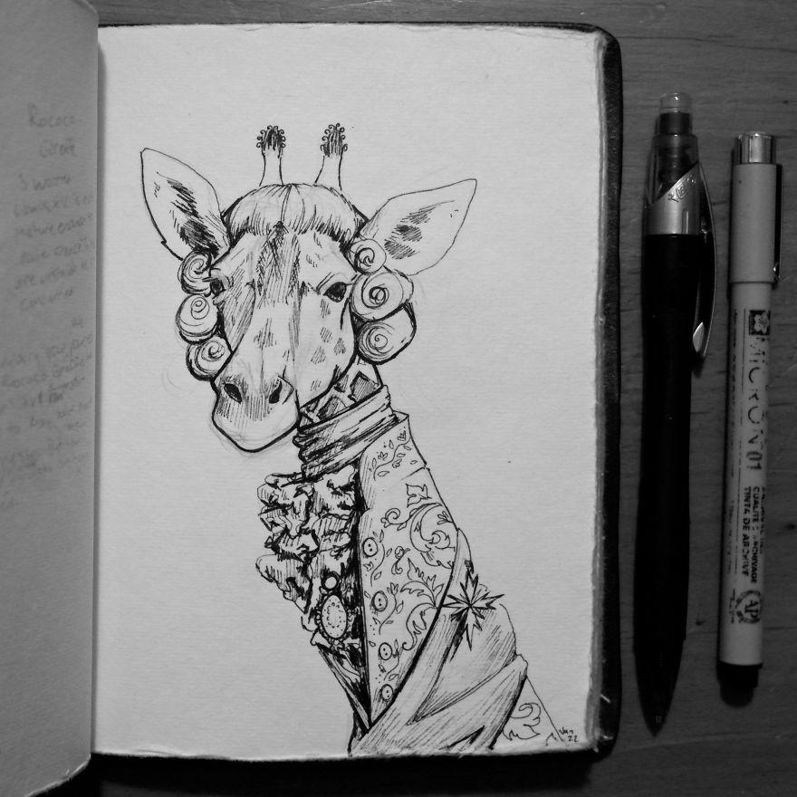 Rococo Giraffe
