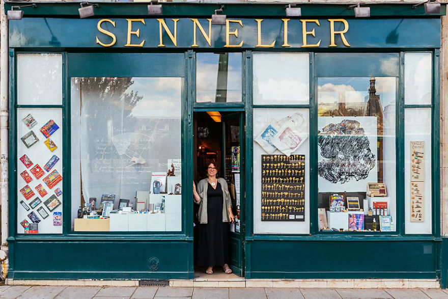 Sophie Sennelier Carries On The Art's Business Founded By Her Great Grandfather