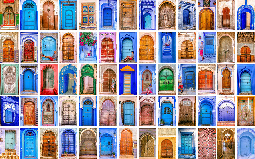 You can\u0027t resist taking a shot of every door you see in Morocco  sc 1 st  Bored Panda & The Colorful Doors Of Morocco | Bored Panda