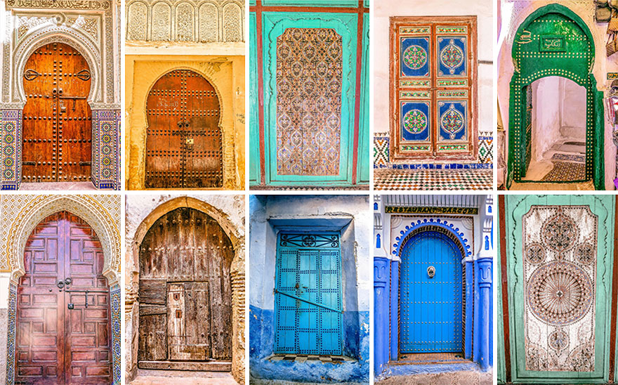 You canu0027t resist taking a shot of every door you see in Morocco & The Colorful Doors Of Morocco | Bored Panda