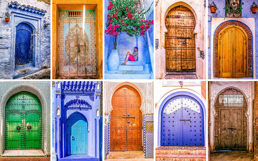 There are no ugly doors in Morocco & The Colorful Doors Of Morocco | Bored Panda Pezcame.Com