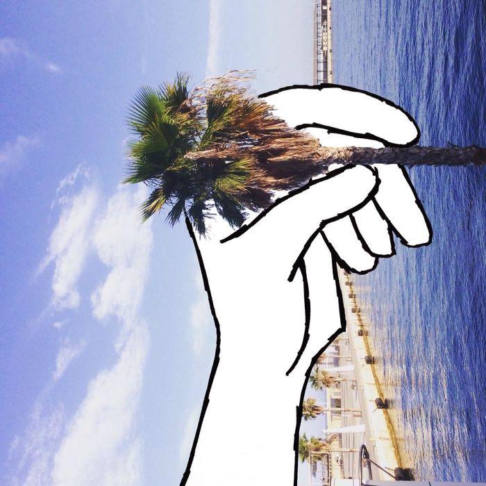 Darts With A Palm Tree