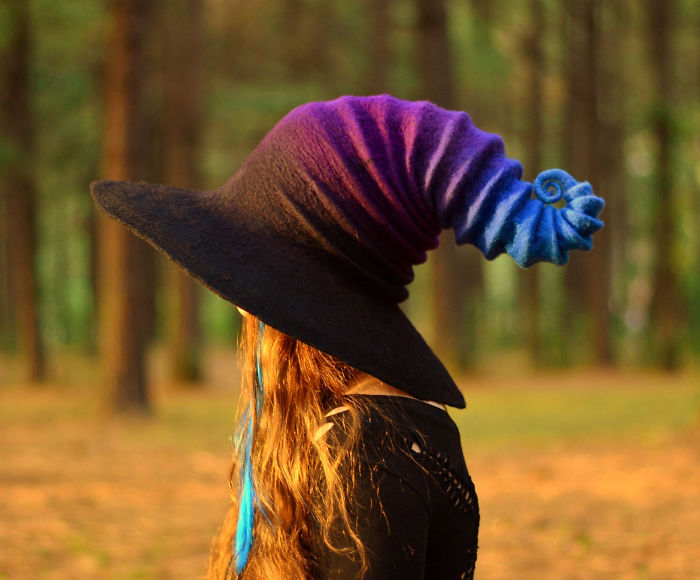 Felt Witch Hats That I Make From Wool  f8510f0b171