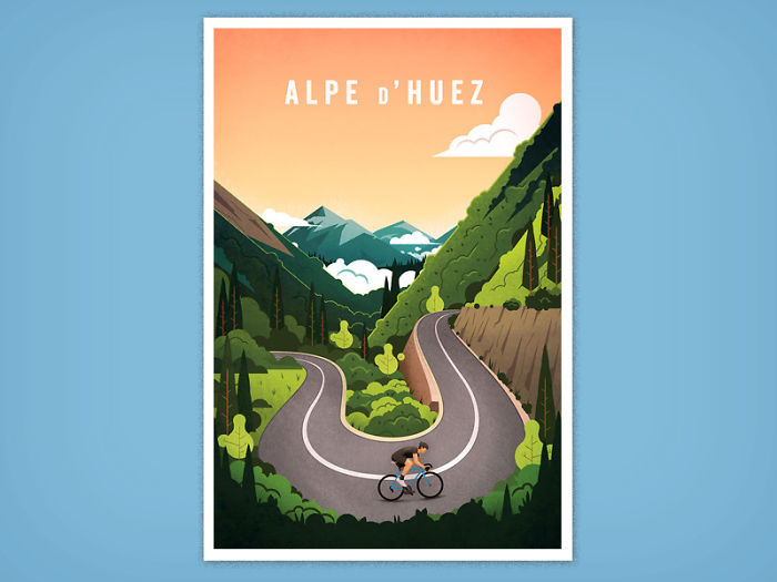I Quit My Job To Create Art For Cyclists