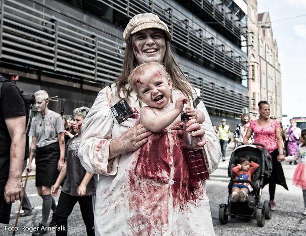 Zombiefamily From Umbrellas Lab :) Photo By Roger Arnefalk