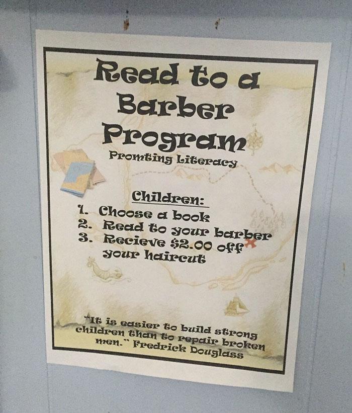 en voz alta la más completa-cut-12 barbería-precio-oferta-niños-lectura