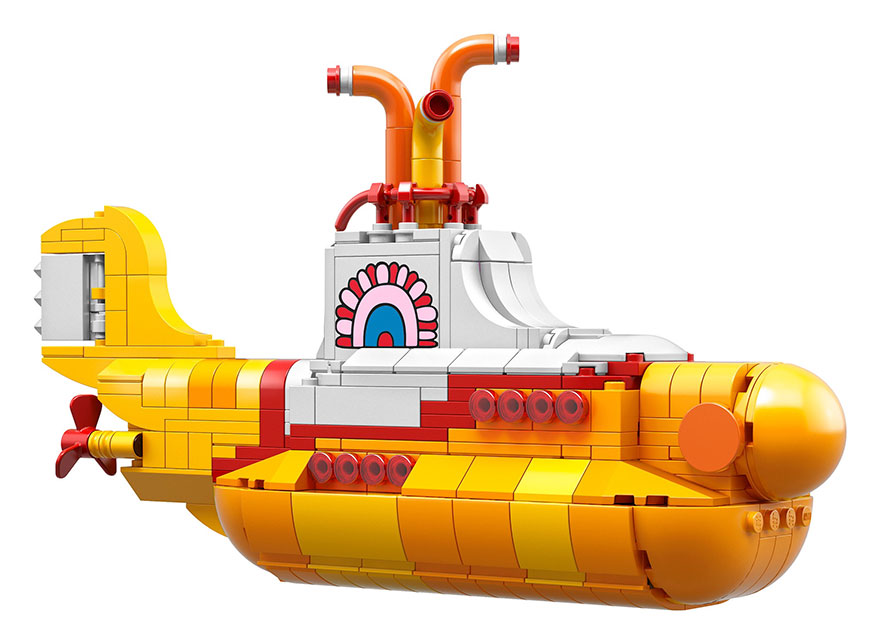LEGO To Release Beatles Set So We Could Finally Live In A Yellow Submarine