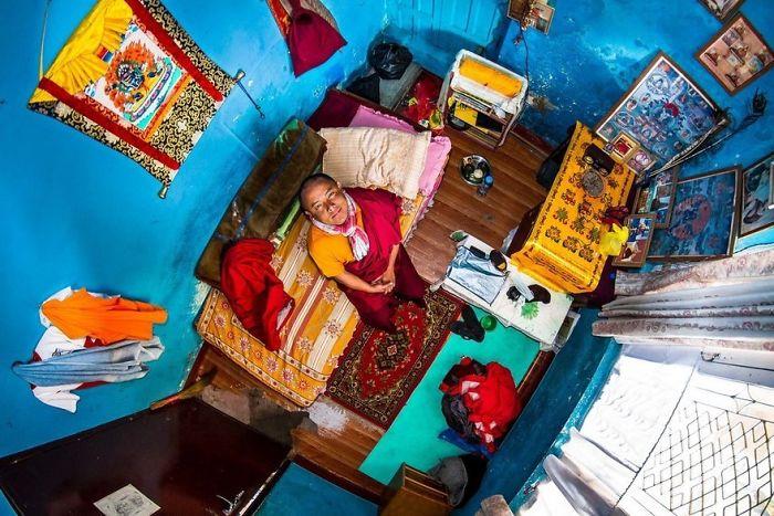 Kathmandu, Nepal, Pema, 22-Year-Old Buddhism Student