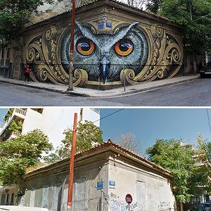 Knowledge Speaks - Wisdom Listens, Street Art In Athens, Greece