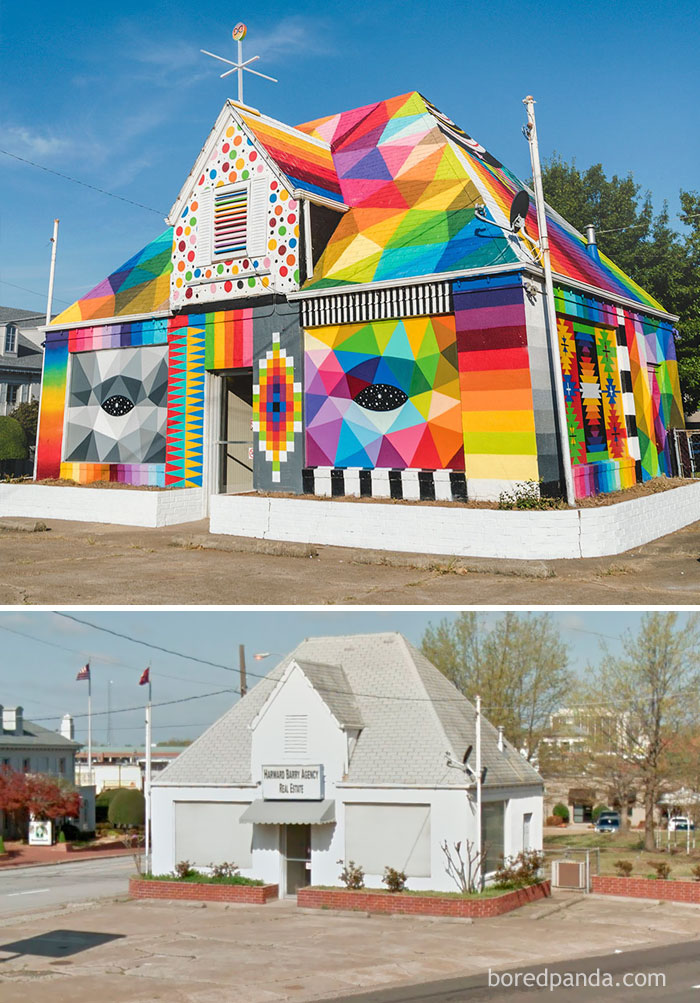 Okuda, The Universal Chapel, Arkansas, USA