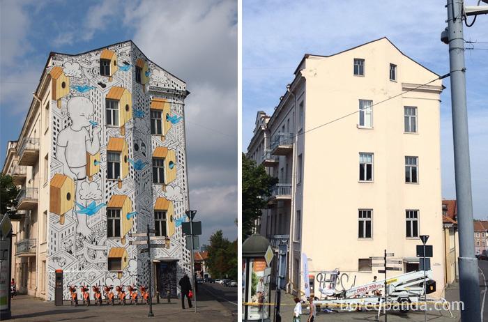 Mural In Vilnius, Lithuania