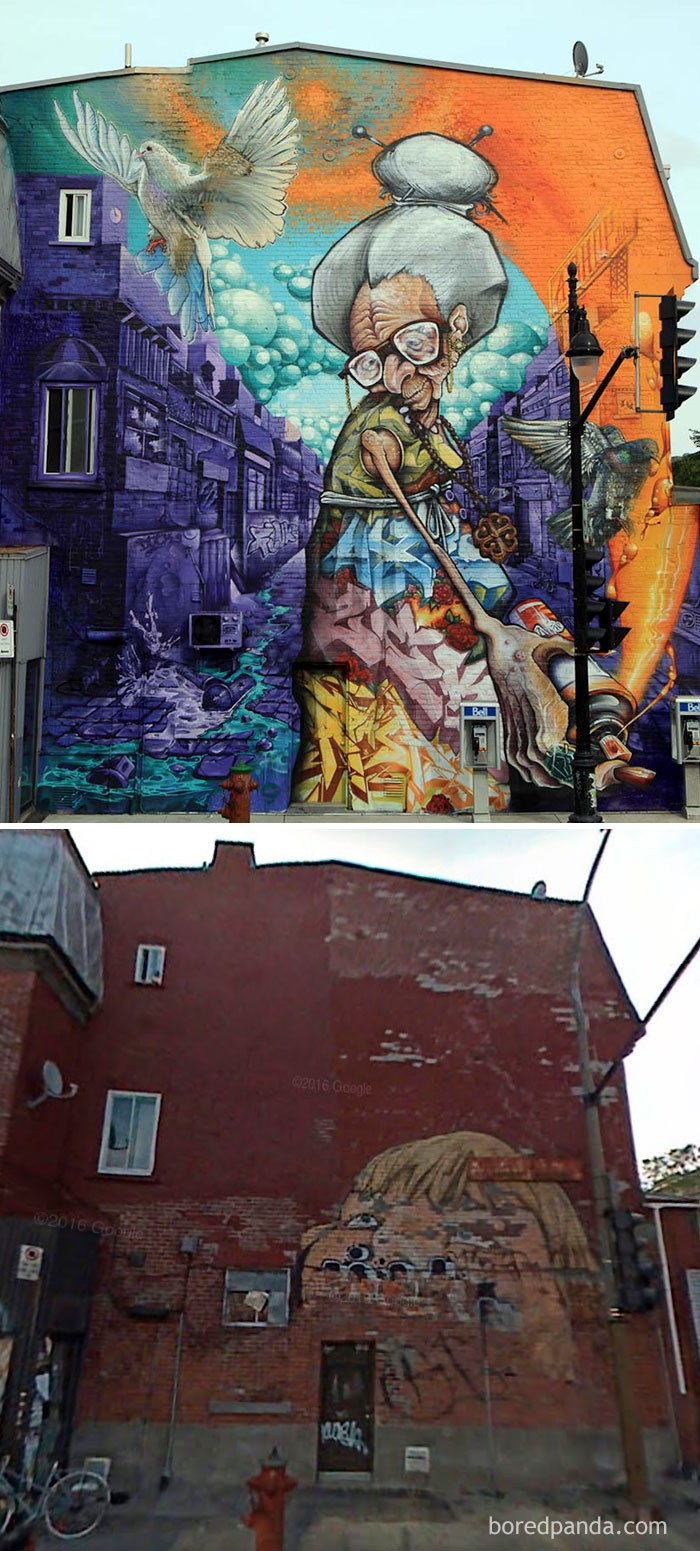 Mural In Montreal, Canada