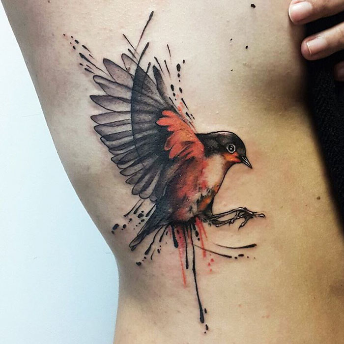 Colored Sleeve Tattoo Of Birds: 15+ Of The Best Bird Tattoo Ideas Ever
