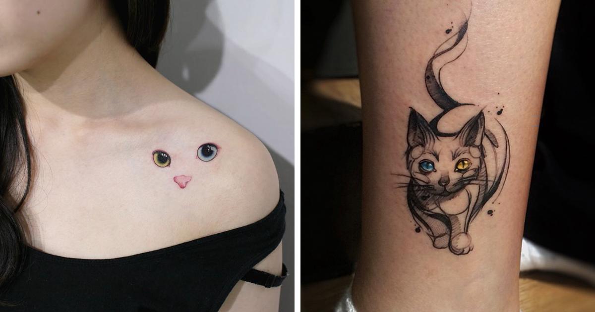 15 Ideas Geniales Para Tatuarse Un Gato Bored Panda