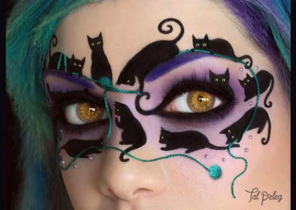 If One Cat Is Not Enough, Try This Black Cat Masquerade Mask