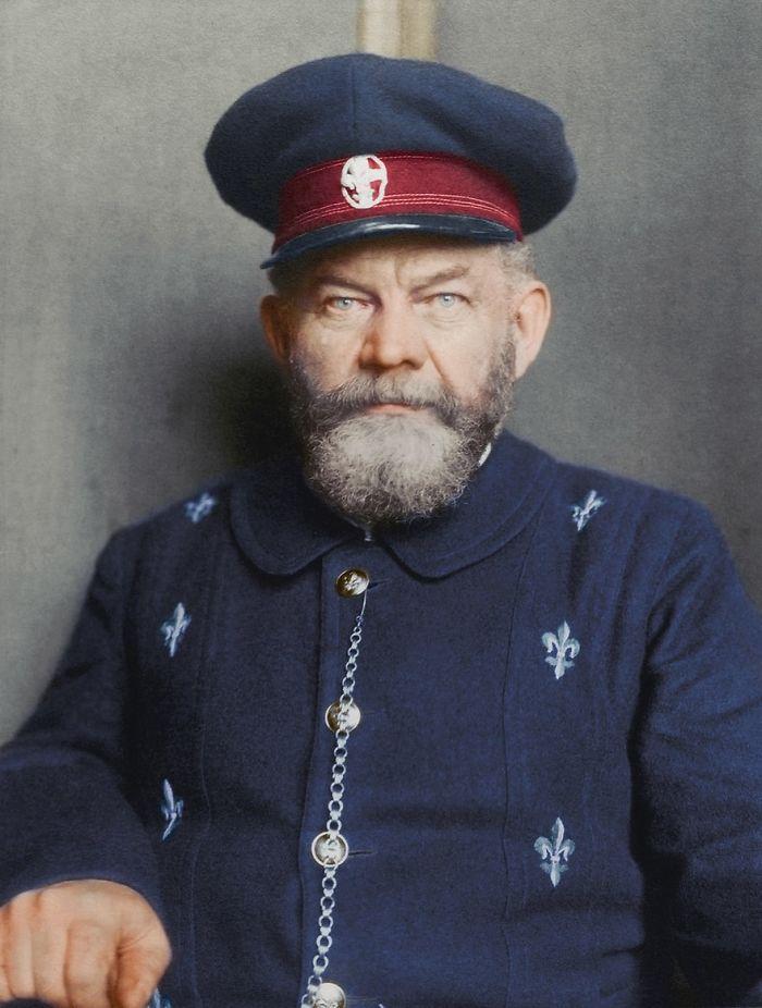 Danish Man, 1909