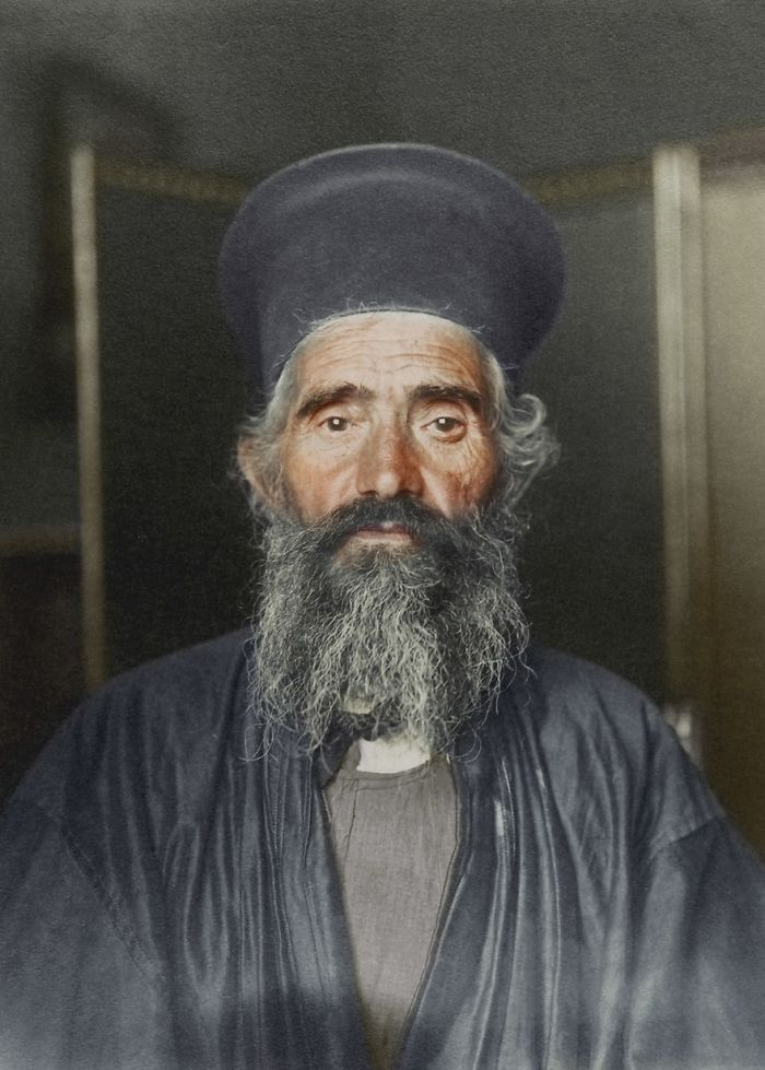 Joseph Vasilon, Greek-Orthodox Priest, 1910