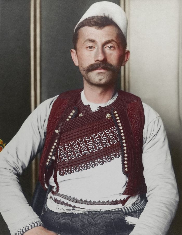 Albanian Soldier, 1910