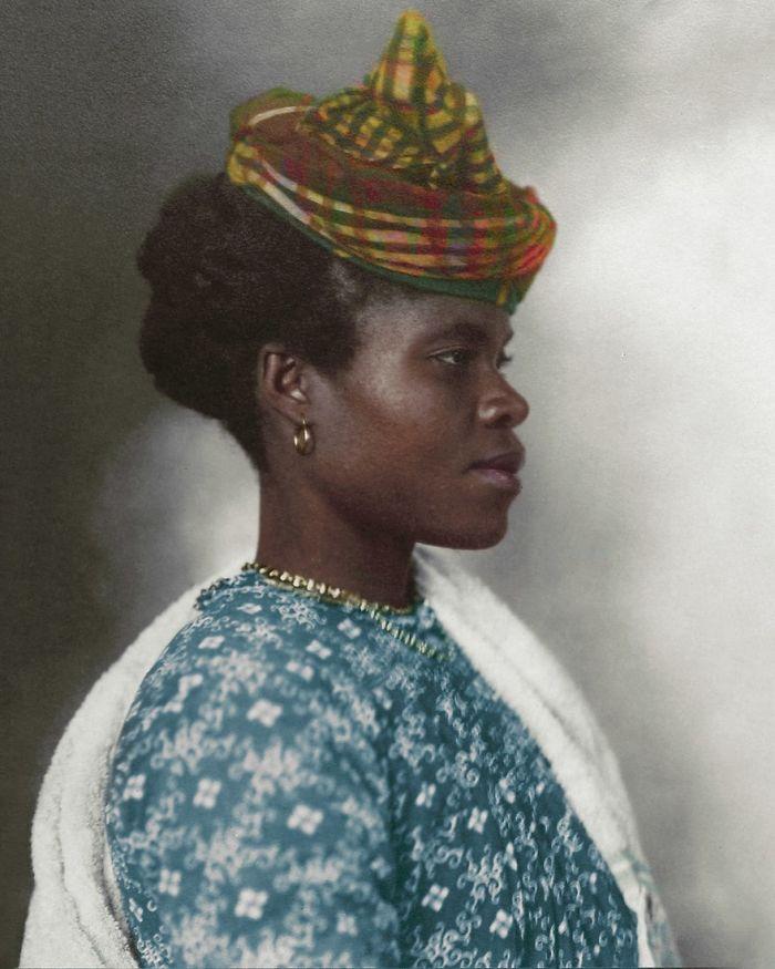 Guadeloupean Woman, 1911