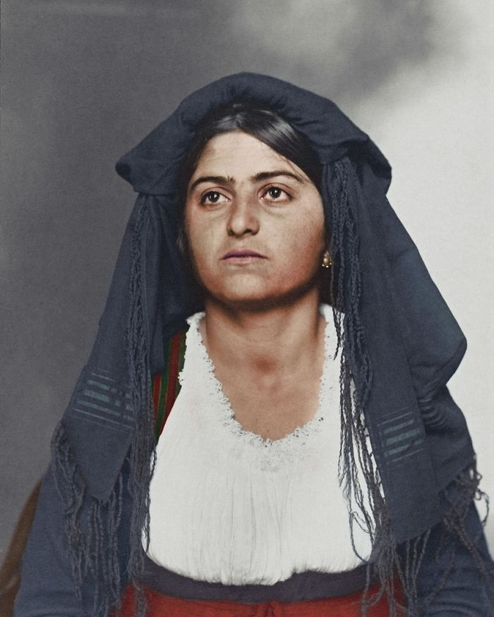 Italian Woman, 1910