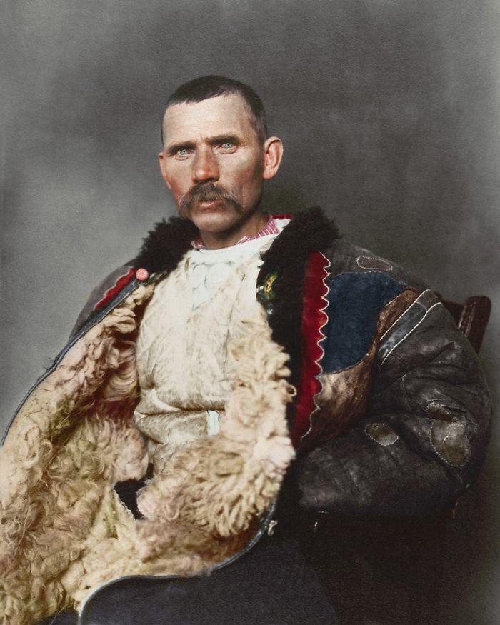 Romanian Shepherd, 1906