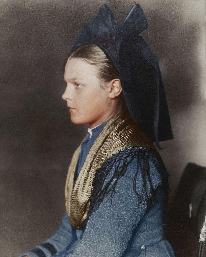Alsace-Lorraine Girl, 1906
