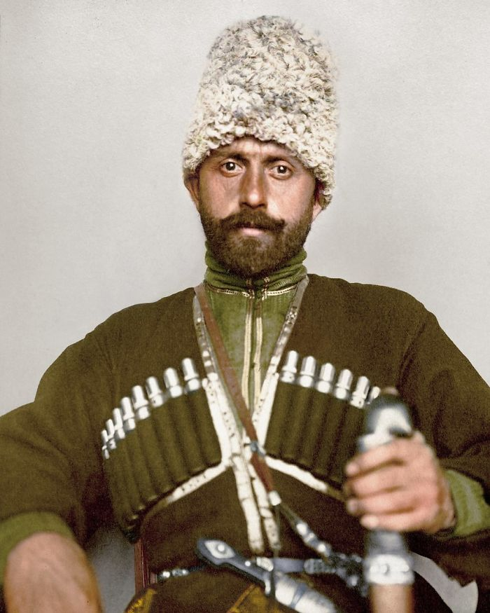 Cossack Man, 1906–1914
