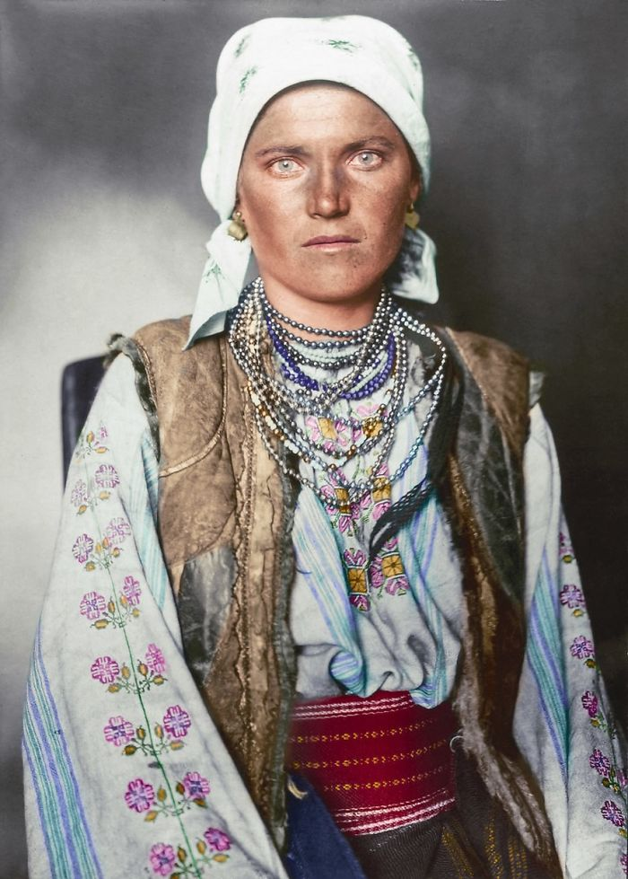 Ruthenian Woman, 1906