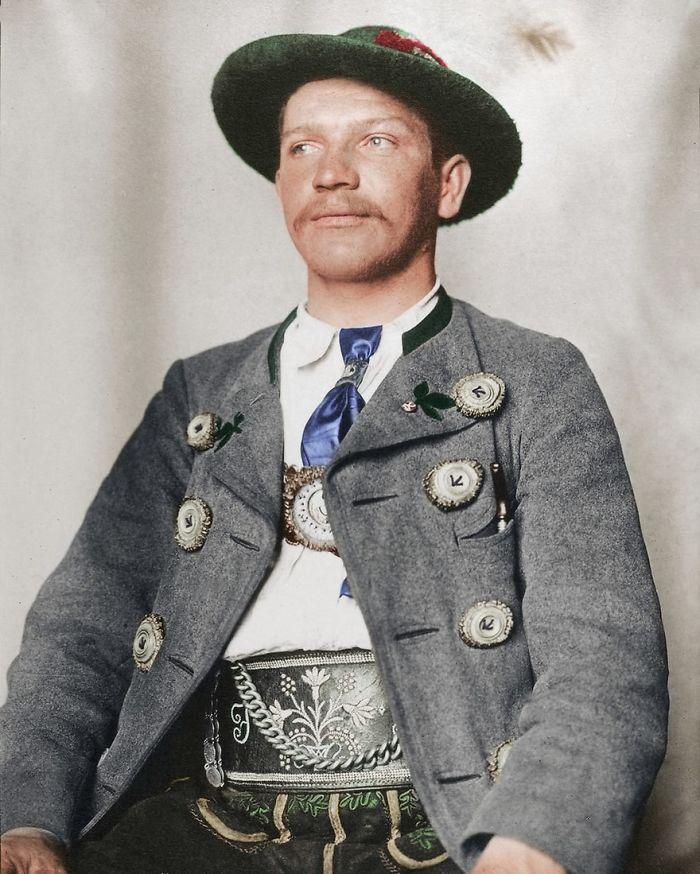 Bavarian Man, 1910
