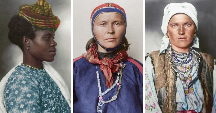 The True Faces of America: Rare 100 Year-Old Portraits Of New York Immigrants