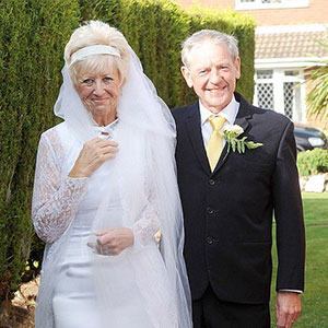 Couple Celebrates 50 Years Of Love By Wearing Same Wedding Clothes They Wore In 1966